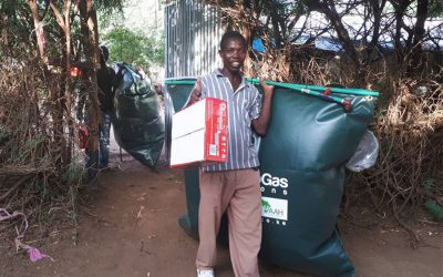 Flexi Biogas goes portable in Kakuma Refugee Camp with AAHI
