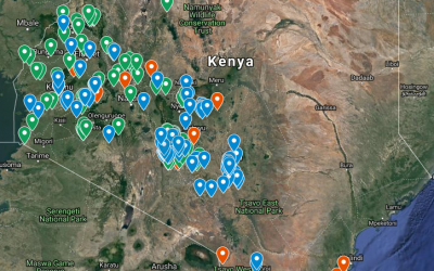 Flexi Biogas Technology Installations on the Map
